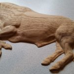 3D bull carving 1 scaled